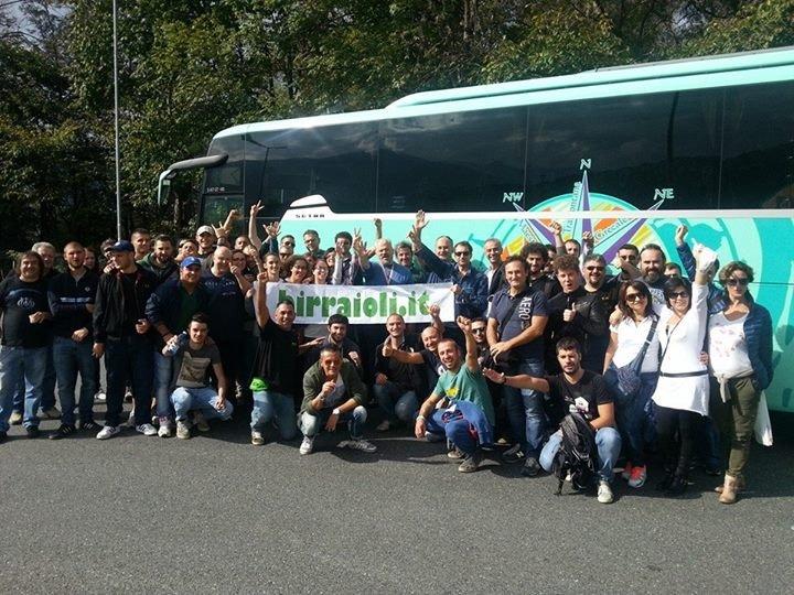 Bus Birraioli alla Fruehlingsfest Stoccarda