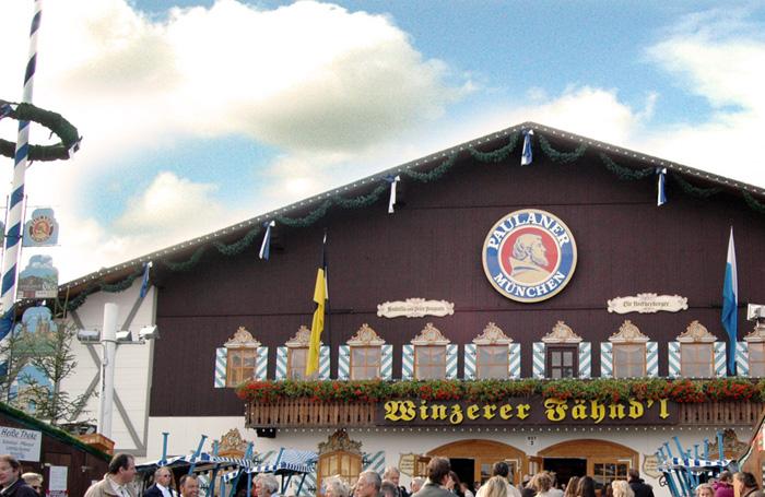 Tendone Oktoberfest Paulaner Festzelt Winzerer Fähndl