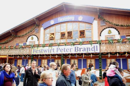 Tendone Stuttgart Fürstenberg Festwirt Peter Brandl