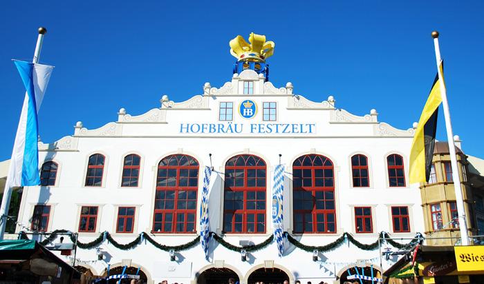 Tendone Oktoberfest Hofbräu Festzelt