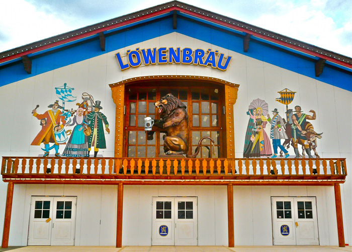 Stand Oktoberfest Löwenbräu Festhalle