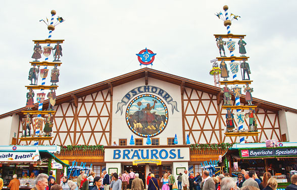 Tendone Oktoberfest Pschorrbräu Festhalle