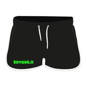Pantaloncini Donna Neri - Birraioli.it