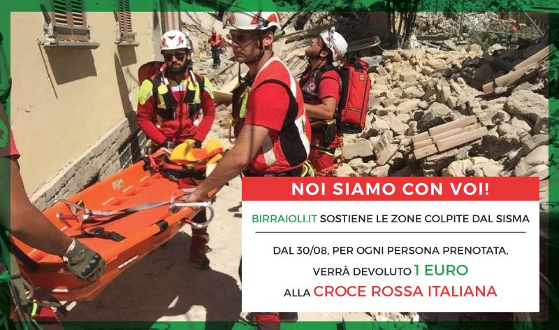Birraioli.it sostiene le zone del centro Italia colpite dal Sisma